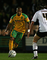 Photo: Paul Thomas.<br /> Port Vale v Norwich City. Carling Cup. 24/10/2006.<br /> <br /> Robert Earnshaw of Norwich makes a run.
