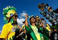Brazil supporters<br /> Moscow 27-06-2018 Football FIFA World Cup Russia  2018 <br /> Serbia - Brazil / Serbia - Brasile<br /> Foto Matteo Ciambelli/Insidefoto