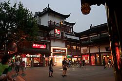CHINA SHANGHAI 19MAY10 - Shopping area around the temple in downtown Shanghai...jre/Photo by Jiri Rezac..© Jiri Rezac 2010