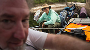 UPPER SUWANNEE RIVER, GA - MAY 22-25, 2016: Gene Bednarek, Don Foley, and John Moran join me on the Upper Suwannee River on a four-day paddle, Sunday, May 22, 2016 in Fargo, Ga.  MANDATORY CREDIT: (Photo/Stephen B. Morton)