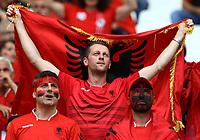 Albania supporters in the stands. Tifosi Albania<br /> Marseille 15-06-2016 Stade Velodrome Footballl Euro2016 France - Albania  / Francia - Albania Group Stage Group A. Foto Matteo Ciambelli / Insidefoto