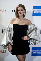 September 13, 2018 - Madrid, Spain - Ana Polvorosa attends to photocall of Vogue Fashion Night Out 2018 in Madrid, Spain. September 14, 2018. (Credit Image: © Coolmedia/NurPhoto/ZUMA Press)