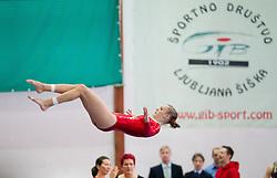 Lana Oblak during Slovenian Artistic Gymnastics National Chapionship 2011, on November 20, 2011 in GIB Arena, Ljubljana, Slovenia. (Photo By Vid Ponikvar / Sportida.com)