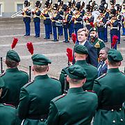 NLD/Den Haag/20170519 - Koning Willem Alexander en Koningin Maxima Ontvangen Presidentspaar Mozambique, Koning Willem-Alexander en president Filipe Nyusi
