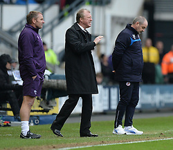 Derby County Manager, Steve McClaren gives his players directions. - Photo mandatory by-line: Alex James/JMP - Mobile: 07966 386802 - 14/02/2015 - SPORT - Football - Derby  - ipro stadium - Derby County v Reading - FA Cup - Fifth Round