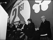 11/01/1985.01/11/1985.11th January 1985.The Aer Lingus Young Scientist Exhibition at the RDS Dublin ..Pictured (third from right) Norman Scott, the Northern Ireland Minister for Education and (second from right) Gemma Hussey, T.D, Minister for Education.