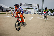 Cruiser - 12 & Under Men #4 (KIM Ronnie) USA at the 2018 UCI BMX World Championships in Baku, Azerbaijan.