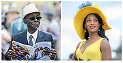 Woodbine Hats during the 157th running of the Queen's Plate horse race at Woodbine Racetrack in Toronto.
