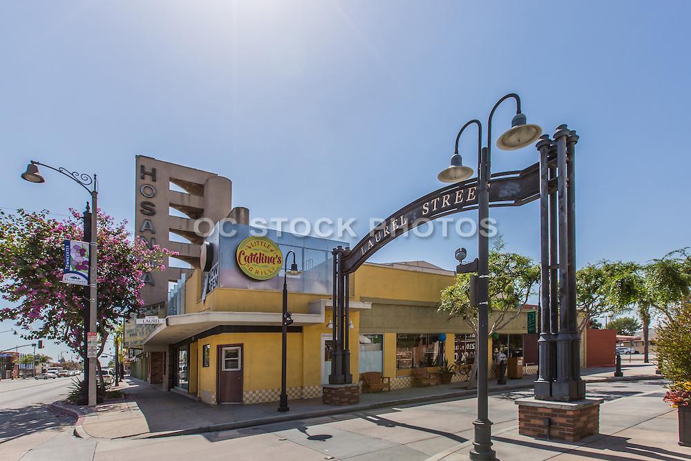 Laurel Street and Bellflower Blvd