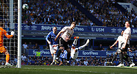 Football - 2018 / 2019 Premier League - Everton vs Manchester United<br /> <br /> at Goodison ParkFootball - 2018 / 2019 Premier League - Everton vs Manchester United<br /> <br /> Richarlison of Everton scores at Goodison Park