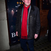 London, England, UK. 23 January 2018. Miles Jupp Arrivers at Beginning - press night at Ambassadors Theatre.