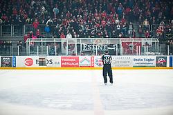 HDD SIJ Jesenice fans during Alps League Ice Hockey match between HK SZ Olimpija and HDD SIJ Jesenice, on February 12, 2019 in Ice Arena Podmezakla, Jesenice, Slovenia. Photo by Peter Podobnik / Sportida