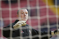 Photo: Aidan Ellis.<br /> Sheffield United v Manchester United. The Barclays Premiership. 18/11/2006.<br /> Sheffield keeper Paddy Kenny with his plaster on his eyebrow after his midweek incident in halifax