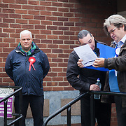 Polling station in Granton, west Edinburgh. <br />