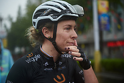 Annette Edmondson (AUS) after GREE Tour of Guangxi Women's World Tour 2018, a 145.8 km road race in Guilin, China on October 21, 2018. Photo by Sean Robinson/velofocus.com