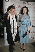 Charlie Morgan and Dita von Teese, Kylie The Exhibition, private view: Victoria & Albert Museum, London, 6 February 2007.  -DO NOT ARCHIVE-© Copyright Photograph by Dafydd Jones. 248 Clapham Rd. London SW9 0PZ. Tel 0207 820 0771. www.dafjones.com.
