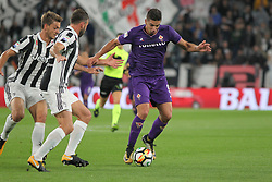 September 20, 2017 - Turin, Piedmont, Italy - Giovanni Simeone (ACF Fiorentina) in action during the Serie A football match between Juventus FC and ACF Fiorentina at Allianz Stadium on 20 September, 2017 in Turin, Italy. (Credit Image: © Massimiliano Ferraro/NurPhoto via ZUMA Press)