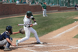12 April 2014:  Derek Idstein during an NCAA division 3 College Conference of Illinois and Wisconsin (CCIW) baseball game between the Augustana Vikings and the Illinois Wesleyan Titans at Jack Horenberger Stadium, Bloomington IL