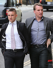 MAY 14 2013 Footballer's sex assault trial-Old Bailey