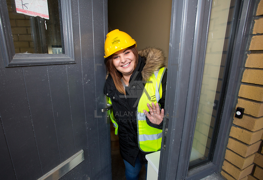 18.12.2017          <br /> Viewing their new home in the development site at the Lord Edward Street Social Housing Scheme was Mary Kelly. Picture: Alan Place