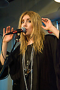 Swedish performer Lykke Li performs at Waterloo Records in Austin Texas, February, 19 2009. Li Lykke Timotej Zachrisson (b. March 18, 1986), known by her stage name Lykke Li, is a Swedish indie singer.