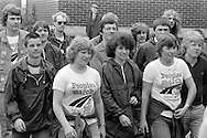 People's  March for Jobs, Yorkshire to London. Corby 19/05/1981