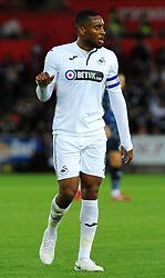 Leroy Fer of Swansea City -Mandatory by-line: Nizaam Jones/JMP- 21/08/2018 - FOOTBALL - Liberty Stadium - Swansea, Wales - Swansea City v Leeds United - Sky Bet Championship