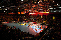 Arena Zlatorog during Velux EHL Champions league 2010/2011 Group A men handball match between HC Celje Pivovarna Lasko of Slovenia and Rhein-Neckar Loewen of Germany, on October 2, 2010 in Arena Zlatorog, Celje, Slovenia. (Photo By Vid Ponikvar / Sportida.com)
