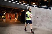 SOLNA, SVERIGE - 2017-11-08: Albin Ekdal under Sveriges landslags  tr&auml;ning inf&ouml;r FIFA World Cup play off mellan Sverige och Italien den 8 november, 2017. Foto: Nils Petter Nilsson/Ombrello<br /> ***BETALBILD***