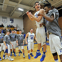 2.18.2014 North Olmsted at Midview Boys Varsity Basketball