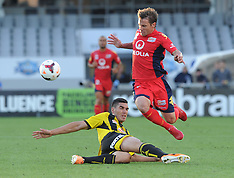 Auckland-Football, A-League, Phoenix v Adelaide United, February 01