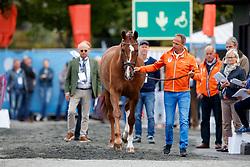 Van Der Meer Patrick, NED, Zippo<br /> Dressage Vetcheck<br /> European Championship Goteborg 2017<br /> © Hippo Foto - Stefan Lafrenz