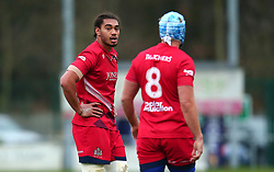 Chris Vui of Bristol Rugby - Mandatory by-line: Robbie Stephenson/JMP - 02/12/2017 - RUGBY - Castle Park - Doncaster, England - Doncaster Knights v Bristol Rugby - Greene King IPA Championship