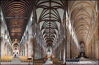 Three Naves - a comparison. Southwell, Lichfield and Beverley
