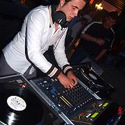 Sportgala 2003 Huizen, DJ, draaitafel