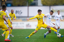 Arnel Jakupovic of Domzale and Anis Jsaragic of Triglav during football match between NK Domzale and NK Triglav in Round #18 of Prva liga Telekom Slovenije 2019/20, on November 23, 2019 in Sports park Domzale, Slovenia. Photo by Sinisa Kanizaj / Sportida