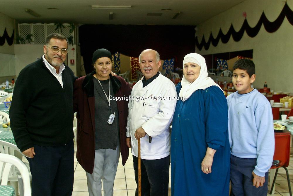= Ramadan diner organised for poor people by Mr Salah ben messaoud /// le ramadon comme chez soi. la chorba du ramadan  organise par salah ben Messaoud,Chevillard, MME AFFIFI, MR ET MME  ZOUHIR  Marseille  France Marseille  France  + L0008534