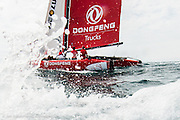 Volvo Ocean Race 2014-2015 Leg One in Alicante, Spain - Team Dongfeng