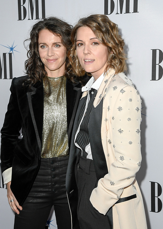 NASHVILLE, TENNESSEE - NOVEMBER 12: Catherine Shepherd and Brandi Carlile attend the 67th Annual BMI Country Awards at BMI on November 12, 2019 in Nashville, Tennessee.