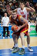DESCRIZIONE : Vilnius Lithuania Lituania Eurobasket Men 2011 Second Round Russia Macedonia Russia FYR of Macedonia<br /> GIOCATORE : Gjorgij Chekovski<br /> CATEGORIA : penetrazione difesa<br /> SQUADRA : Macedonia FYR of Macedonia<br /> EVENTO : Eurobasket Men 2011<br /> GARA : Russia Macedonia Russia FYR of Macedonia<br /> DATA : 12/09/2011<br /> SPORT : Pallacanestro <br /> AUTORE : Agenzia Ciamillo-Castoria/M.Metlas<br /> Galleria : Eurobasket Men 2011<br /> Fotonotizia : Vilnius Lithuania Lituania Eurobasket Men 2011 Second Round Russia Macedonia Russia FYR of Macedonia<br /> Predefinita :