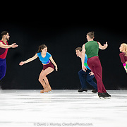 Ice Dance International performing Perpetual Motion, Choreographed by Douglas Webster, in Dover, NH, March 2020