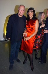 Musician DAVID GILMOUR and his wife POLLY SAMPSON at a party to celebrate the 90th birthday of Vogue magazine held at The Serpentine Gallery, Kensington Gardens, London on 8th November 2006.<br /><br />NON EXCLUSIVE - WORLD RIGHTS