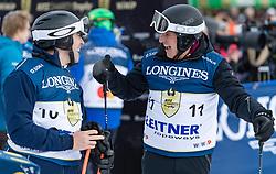 20.01.2018, Hahnenkamm, Kitzbühel, AUT, FIS Weltcup Ski Alpin, Kitzbuehel, Kitz Charity Trophy, im Bild v.l.: Anton Seeber, Martin Leitner // f.l.: Anton Seeber Martin Leitner during the Kitz Charity Trophy of the FIS Ski Alpine World Cup at the Hahnenkamm in Kitzbühel, Austria on 2018/01/20. EXPA Pictures © 2018, PhotoCredit: EXPA/ Stefan Adelsberger