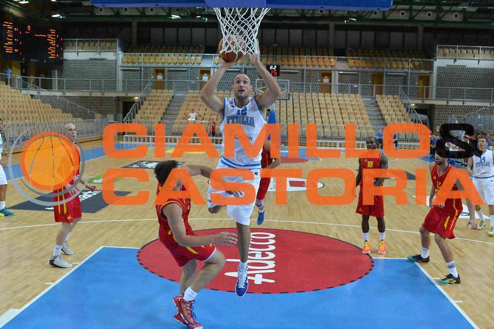 DESCRIZIONE : Koper Capodistria Amichevole Italia Montenegro<br /> GIOCATORE : marco cusin<br /> CATEGORIA  : tiro<br /> SQUADRA : Nazionale Italia Maschile<br /> EVENTO :  Amichevole Italia Montenegro<br /> GARA : Italia Montenegro<br /> DATA : 22/08/2013<br /> SPORT : Pallacanestro<br /> AUTORE : Agenzia Ciamillo-Castoria/M.Gregolin<br /> Galleria : FIP Nazionali 2013<br /> Fotonotizia : Koper Capodistria Amichevole Italia Montenegro<br /> Predefinita :