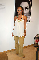 Singer MYLEEN KLASS  at an exhibition of photographs by Robin Douglas-Home entitled 'The Sixties Set' held at The Air Gallery, 32 Dover Street, London W1 on 28th June 2005.<br /><br />NON EXCLUSIVE - WORLD RIGHTS