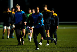 Juan De Jongh of Wasps during training ahead of the European Challenge Cup fixture against SU Agen - Mandatory by-line: Robbie Stephenson/JMP - 18/11/2019 - RUGBY - Broadstreet Rugby Football Club - Coventry , Warwickshire - Wasps Training Session