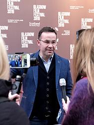 "Glasgow Film Festival, Sunday 3rd March 2019<br /> <br /> UK Premiere of ""Do No Harm (Eminent Monsters)""<br /> <br /> Pictured: Stephen Bennett (Director)<br /> <br /> Alex Todd | Edinburgh Elite media"