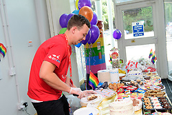 Pictured is Matt Bellamy.<br /> <br /> Royal Mail's Peterborough Mail Centre held their first ever Pride Day to raise money for the Albert Kennedy Trust.  The charity specialises in homelessness amongst the LGBT community, particularly aged 16-25. <br /> <br /> Picture: Chris Vaughan Photography<br /> Date: August 25, 2017