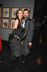 MARGO STILLEY and EVGENY LEBEDEV at Andy & Patti Wong's Chinese new Year party held at County Hall and Dali Universe, London on 26th January 2008.<br /><br />NON EXCLUSIVE - WORLD RIGHTS (EMBARGOED FOR PUBLICATION IN UK MAGAZINES UNTIL 1 MONTH AFTER CREATE DATE AND TIME) www.donfeatures.com  +44 (0) 7092 235465