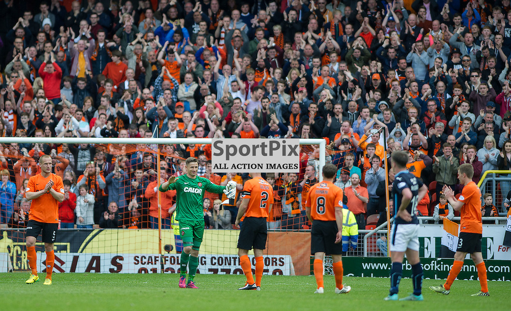 Dundee United v Dundee, SPFL Premiership, Tannadice Park, 24 May 2015<br />